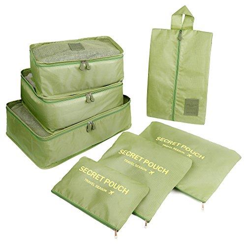 Pristino - Organizador para maletas  Verde verde