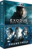Exodus : Gods and Kings + Prometheus [Combo Blu-ray 3D + Blu-ray 2D]