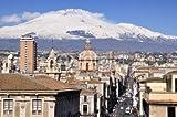 adrium Poster-Bild 50 x 30 cm: Catania via etnea, Bild auf
