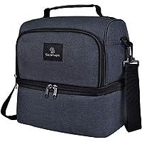Bolsa Termica Comida , Sararoom Lunch bag para Hombres , Mujeres , Niños , Para Camping , Excursión , Playa Refrescos , 9L