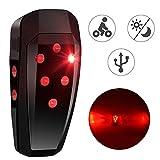 Baonuor LED Fahrrad Rücklicht USB Wiederaufladbar Bike Taillight Mit Lichtsensor Bewegungssensor
