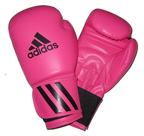 adidas® Boxhandschuhe Speed50 pink rosa 12 Unzen UZ OZ Boxing Glove Box-Handschuhe Damen Frauen adiSBG50SMU Boxen Kickboxen Fitness MMA Muay Thai Thaiboxen