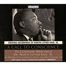 [ [ A CALL TO CONSCIENCE: THE LANDMARK SPEECHES OF DR. MARTIN LUTHER KING, JR. BY(KING, MARTIN LUTHER, JR. )](AUTHOR)[COMPACT DISC]