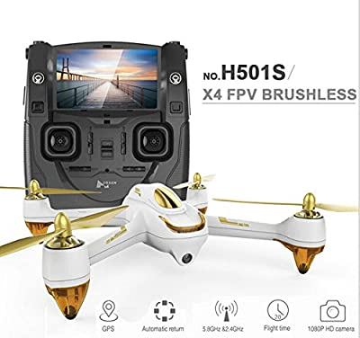 5.8G FPV 10CH brushless with 1080P HD camera GPS RC quadcopter by FQ