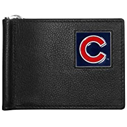 MLB Chicago Cubs Leather Bill Clip Wallet