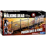 McFarlane Toys The Walking Dead AMC TV Series Prison Gate & Fence Building Set #14556 by Unknown