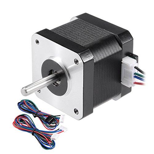sourcing map Nema 42 Schrittmotor Bipolar 24mm 0.38NM 0.4A 6.2V für CNC 3D Drucker DIY Hobby DE de