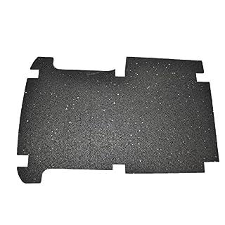 aruma® Antirutschmatte Laderaummatte, Boden für Kastenwagen, kurzer Radstand, Schiebetür rechts, original Zurrösen nutzbar ab Baujahr 06/2015