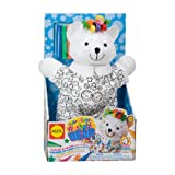 Alex Toys Color & Cuddle - Oso de juguete (tejido lavable)