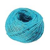 ultnice 3Rollen Jute Twine String Seil String Hanf Seil für DIY-Geschenk Verpackung