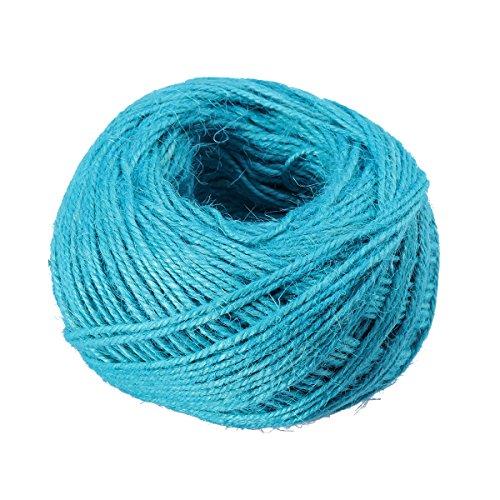 ultnice 3Rollen Jute Twine String Seil String Hanf Seil für DIY-Geschenk Verpackung -