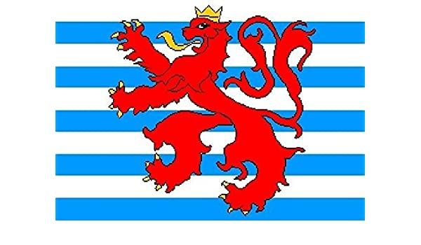 U24 Aufkleber Luxemburg Handelsflaggen Flagge Fahne 12 X 8 Cm Autoaufkleber Sticker Auto