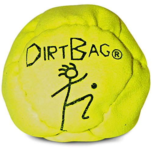World Footbag Dirtbag Hacky Sack Footbag, Neongelb