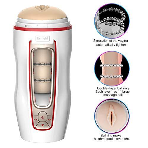Masajeador automático con función telescópica Efecto masajeador de