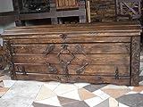 WoMA Kreativ Shop / deutschlandweit einziger Anbieter diesen Hersteller Massive Handgemachte Holzkiste Truhe Box Holz Aufbewahrung Antik Dekoration Wohnen Möbel Sitzbank Schuhschrank Kaffee Tisch KL2