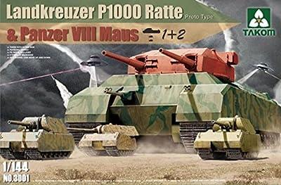 Takom TAK3001 - 1/144 Landkreuzer P1000 Ratte Panzer von Takom