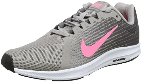 Foto de Nike Downshifter 8, Zapatillas de Running para Mujer, Gris (Gunsmoke/Sunset Pulse-Atmosphere Grey 004), 41 EU