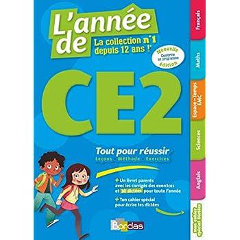 L'Année de CE2 - Tout pour réussir - Edition Bordas 2019