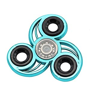 Anglewolf EDC Fidget Spinner High Speed Bearing ADHD Focus Anxiety Relief Toys
