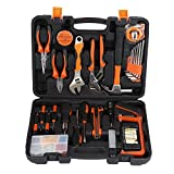 Tool Kit, LESHP Precision Tools 100 Piece DIY Home Household Toolkit with Combination Pliers in Box Case - Great Gift