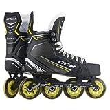 CCM Tacks 9090R Senior Roller Hockey Skates, Weite :D, Größe:9.0