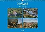 Volkach aus der Luft (Wandkalender 2019 DIN A3 quer) -