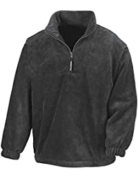 Result - 1/4 Zip Fleece Pullover