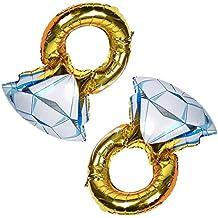 Rosepoem 55x80cm diamante hoja hincha para las decoraciones de la boda del partido de gallina Accesorios