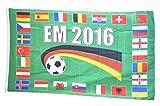 Flaggenfritze® Flagge EM 2016 24 Länder - 90 x 150 cm