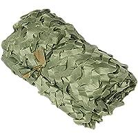 XUE Red de Camuflaje del ejército Alemán Verde 2x 33x 54x 52x 21.5x 21.5x 3m para Caza Wild Animal Fotografía Protección Solar Camping Camuflaje Decoración, 2*2M=6.5*6.5ft