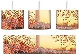 Jefferson Memorial inkl. Lampenfassung E27, Lampe mit Motivdruck, tolle Deckenlampe, Hängelampe, Pendelleuchte - Durchmesser 30cm - Dekoration mit Licht ideal für Wohnzimmer, Kinderzimmer, Schlafzimmer