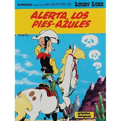Lucky Luke, tome 10 : Alerte aux Pieds-bleus (en espagnol)