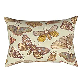 ALCYONEUS Fire Balloon Bee Modern Pillow Case Sofa Waist Throw Cushion Cover Bedroom Decor size 30cm x 50cm