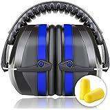Fnova Protectores auditivos 34dB más altas Muffs NRR,Oído defensiva Banda de protección /Disparos Hearing Protector orejeras adapta a adultos a los niños