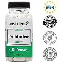 Probióticos - 10 mil millones de UFC. Nueva fórmula potenciada de amplio espectro para mejorar