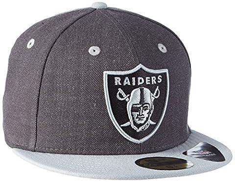 Casquette NEW ERA Top Oakland Raiders, Mixte, Cap Top Oakland Raiders, Official Team Colour/ Heather Gray