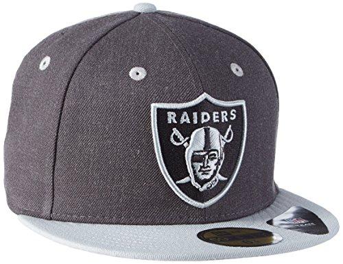 New Era Cap Top Oakland Raiders Official Team Colour/ Heather Gray