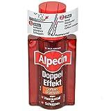3x Alpecin DOPPEL EFFEKT COFFEIN SHAMPOO gegen Haarausfall und Schuppen - 200ml
