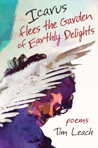 Icarus Flees the Garden of Earthly Delights por Tim Leach