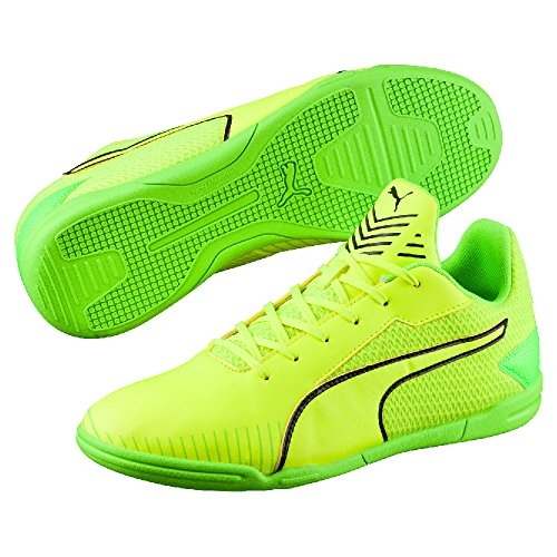 Puma 365 Ct, Chaussures de Football Homme Safety Yellow - Puma Black - Green Gecko