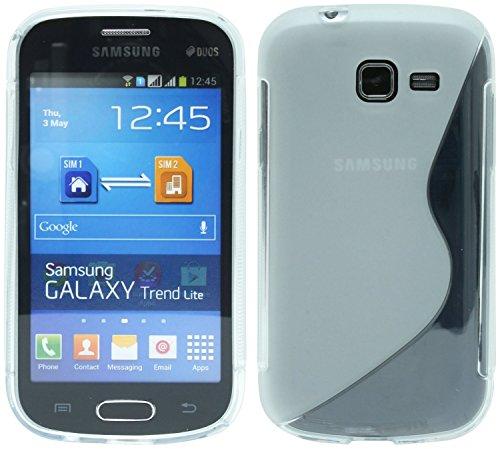 S-Line TPU SchutzHülle für Samsung Galaxy Trend Lite S7390 Silikon Hülle in Transparent @ Energmix