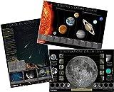 Orion poster kit del sistema solare, della Luna e delle mete