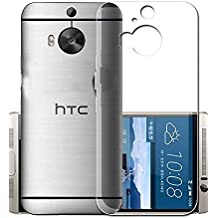 ECellStreet® Silicone Soft Back Cover for HTC One M9 Plus (Transparent)
