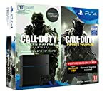 PS4 1TB with Call of Duty - Infinite Warfare  inside box, Call of Duty - Modern Warfare  (Voucher  code to download) inside box and Infamous Second Son outside box. This box includes the below: a) Call of Duty - Infinite Warfare - Physical disc insid...