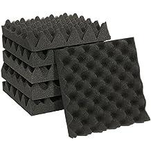 TOOGOO 25X25X5CM espuma de aislamiento de sonido caja de carton estudio de espuma acustica tratamiento de