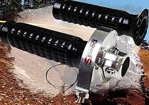 Gasdrehgriff universell für Umrüstung Quad ATV Gasgriff Set mit