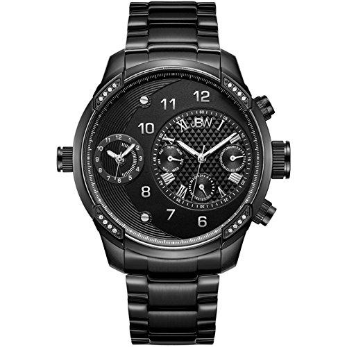 Jbw Diamond orologio da uomo in acciaio INOX, G3–nero