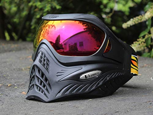 VForce Grill Paintball Maske Shadow Schwarz HDR Thermal Glas -