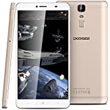DOOGEE Y6 MAX 3D - 4G Smartphone ohne Vertrag ( 6.5 Zoll, Android 6.0, MT6750T, Octa Core, 1.5Ghz, 3GB RAM 32GB ROM, 13MP Kamera, 4300mAh, Fingerprintsensor ID, Dual SIM, Metallkörper, Naked Eye 3D Bildschirm, Quick Charge) (Gold)