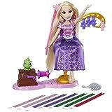 Hasbro Disney Prinzessin B6837ES0 - Rapunzel fantastischer Frisier-Spaß, Puppe